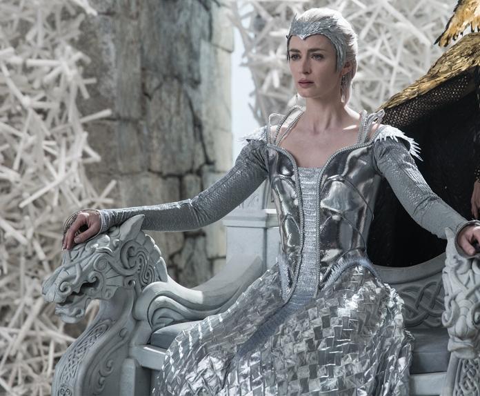 Emily Blunt è Freya ne Il cacciatore e la regina di ghiaccio (2016)