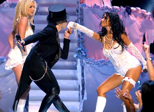 Christina+Aguilera+Britney+Spears+Madonna++Missy+E+madonna_tux