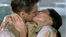 Audrey Hepburn e George Peppard in Colazione da Tiffany (1961)