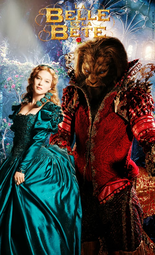 Beauty & Beast GANS couple poster