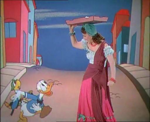 The Three Caballeros Disney Donald, Jose and Aurora Miranda