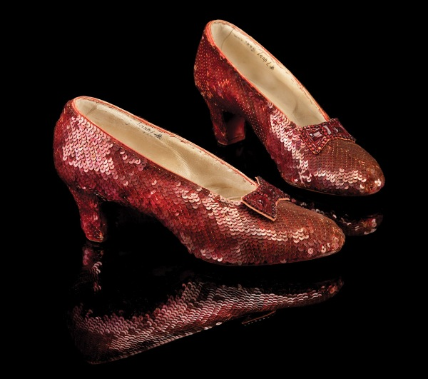 original wizard of oz ruby red slippers