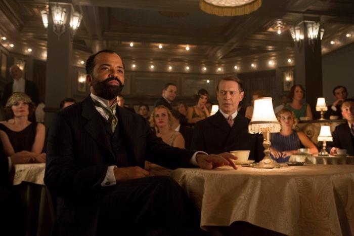 Nei prossimi 12 episodi, il boss inamidato che vanta il maestoso volto sifilitico di Steve Buscemi dovrà vedersela con il leader della mala di Harlem.
