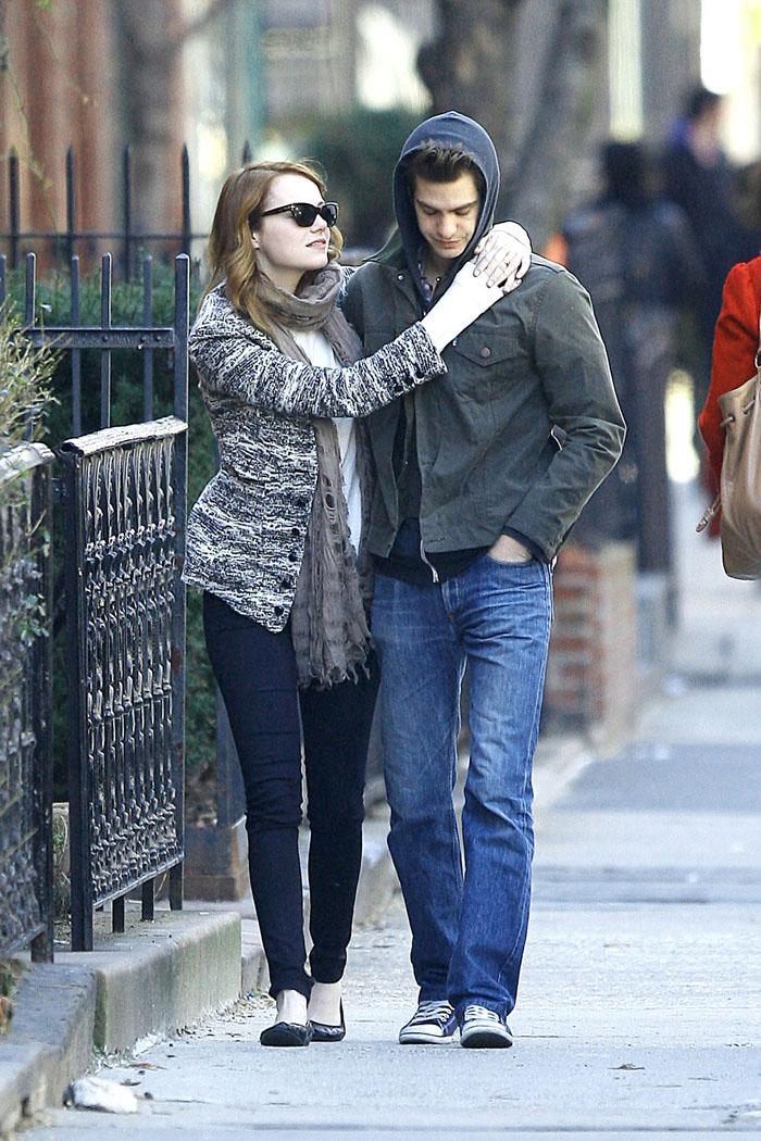 La quotata coppia di giovani attori sempre più in ascesa si è incontrata durante le riprese del reboot dell'Uomo-Ragno, nell'agosto 2011, e da lì non si sono più sganciati l'uno dall'altra.