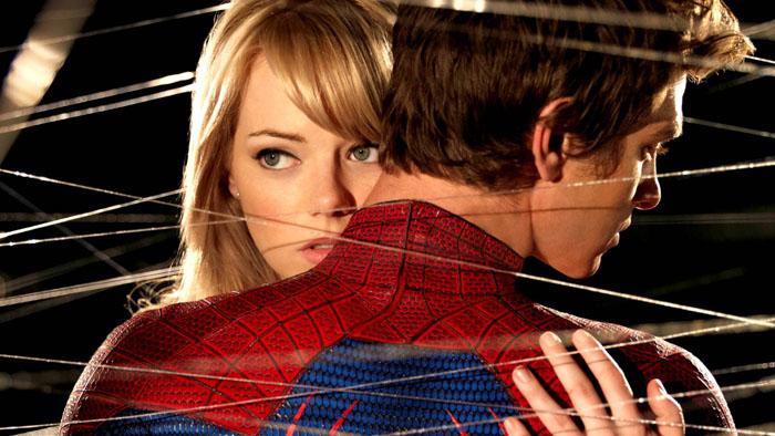Peter e Gwen in The Amazing Spider-Man 2 - Il potere di Electro