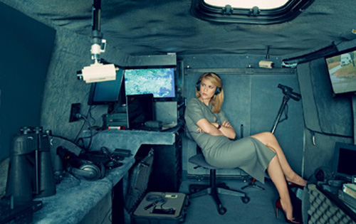 Claire Danes in Homeland (2011-) è Carrie Mathison