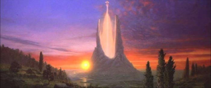 Il regno di Fantàsia dove svetta la Torre d'Avorio