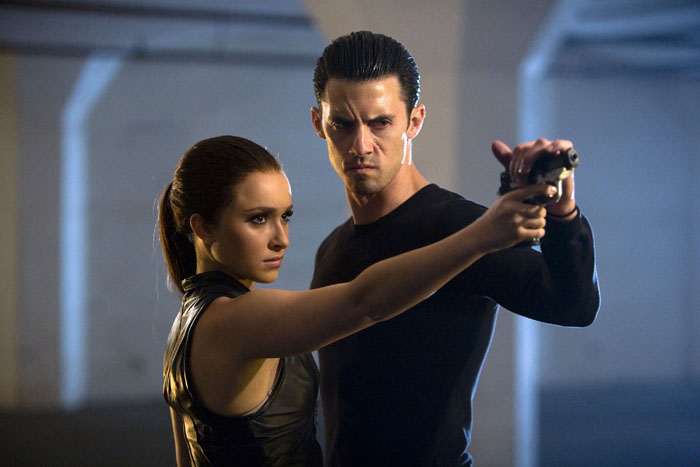 Hayden Panettiere e Milo Ventimiglia in love sul set di Heroes (2006-2010)