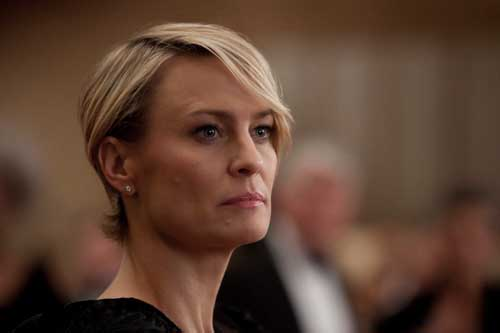 Robin Wright in House of Cards (2013-) è Claire Underwood