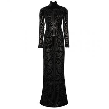 Zuhair Murad   Floor- length flocked velvet gown  € 1.798,00