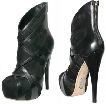 ALEJANDRO INGELMO - 140MM CRISS CROSS ANKLE BOOTS € 642