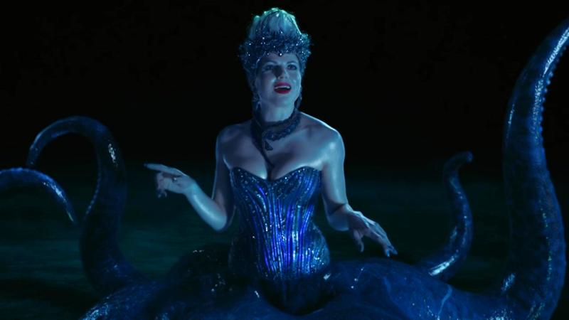 Lana Parrilla è Ursula la piovra-megera de La Sirenetta in C'era una volta