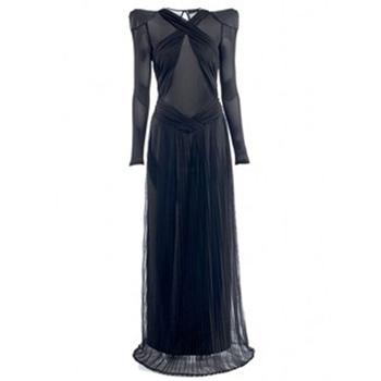 CARLOTTA ACTIS BARONE Finnicella Dress – Black € 1.040