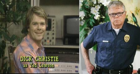 Dick Christie è Ted Lawson Il sarcastico papà-ingegnere che ha inventato Vicki, oggi, è l'agente addetto alla sicurezza di un diamante nella soap Beautiful.