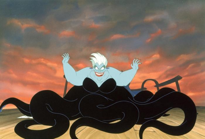 La versione personificata nella serie tv vs la gigantesca piovra nel film d'animazione