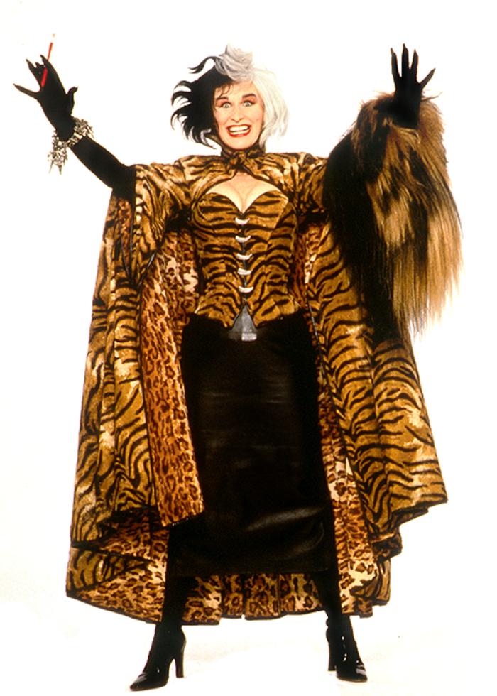 Glenn Close è Crudelia De Mon ne La carica dei 101