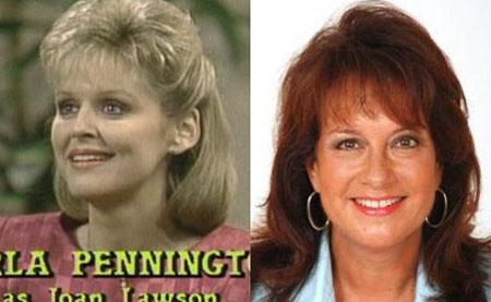 Marla Pennington è Joan Lawson L'adorabile mamma di Jamie che vuole bene a Vicki come una figlia, oggi, pubblica gustose ricette sulle riviste femminili.