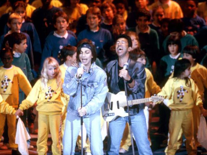 Italia '90: Un'estate italiana di Edoardo Bennato e Gianna Nannini