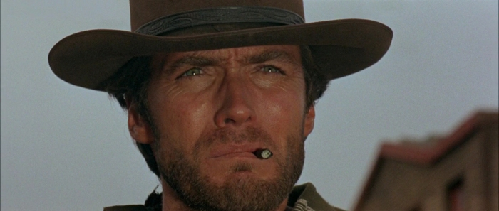 Clint Eastwood è l'Uomo senza nome (detto Joe/Il Biondo/Il Monco): Il bounty killer dagli occhi di ghiaccio nella trilogia del dollaro.