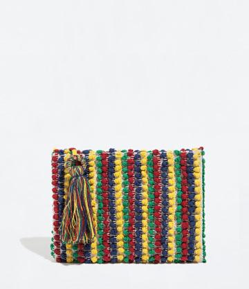 Borsa Canvas con ricamo Zara € 25,95