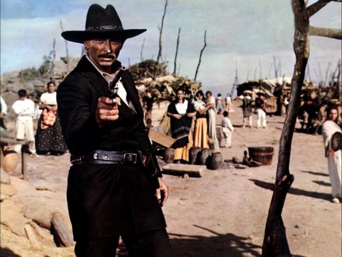 Lee Van Cleef è Sabata: Lo scaltro pistolero che sottrae a una banda di furfanti un bottino da centomila dollari in Ehi amico... c'è Sabata, hai chiuso! (1969)