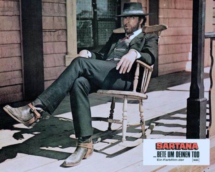 Gianni Garko è Sartana : Il misterioso fuciliere-cartaio con cravatta e pancotto, stratega di un colpo infallibile in ...Se incontri Sartana prega per la tua morte (1968)