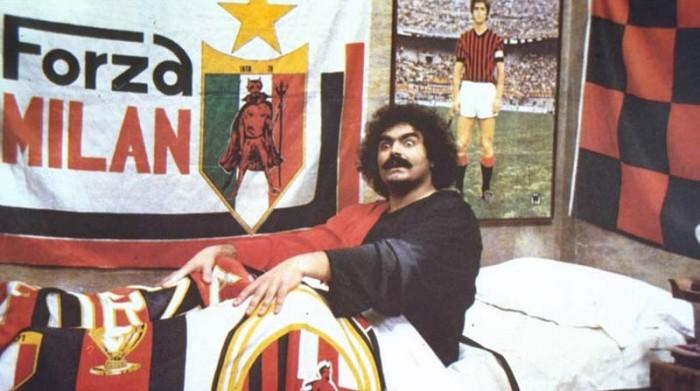 Diego Abatantuono è il boss Rossonero degli ultrà sgangherati in Eccezzziunale... veramente (1982)