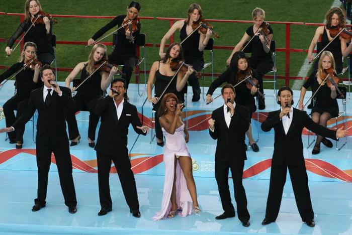 Germania 2006: The Time of our Lives di Toni Braxton e Il Divo