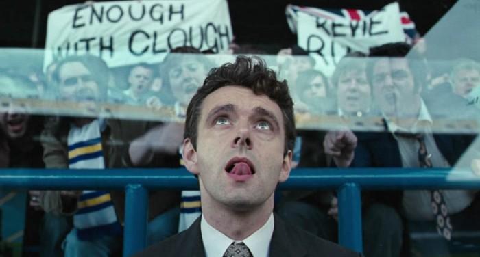Michael Sheen è coach Brian Clough, reclutato a suo discapito da Il maledetto United: l'arrogante squadra del Leeds . (2009)