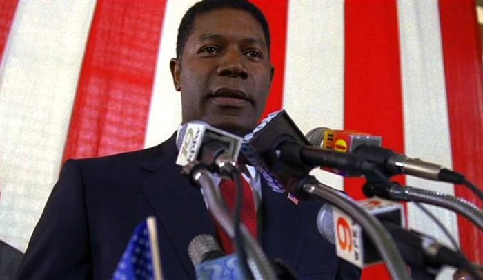 David Palmer (Dennis Haysbert), primo Presidente afro della storia…