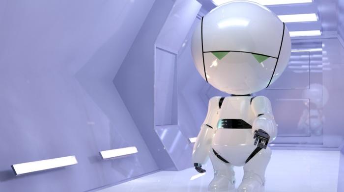 Marvin l'androide paranoico in Guida galattica per autostoppisti (2005)