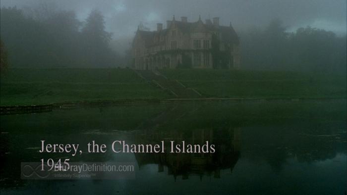 La villa coloniale in The Others (2001)