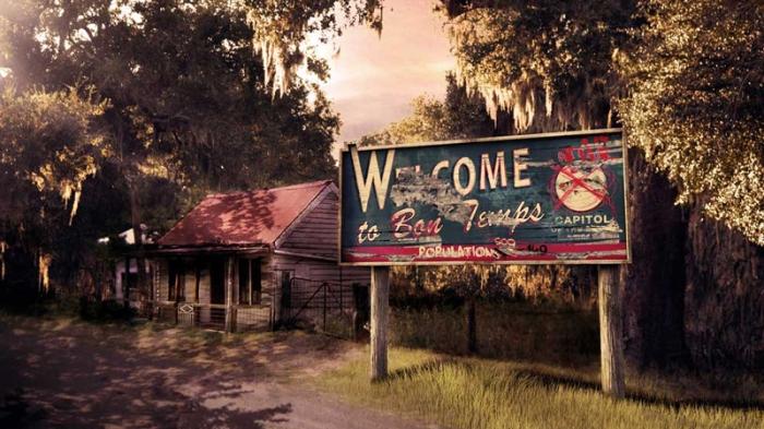 Bon Temps in True Blood (2008-14) Il tranquillo paesino della Louisiana che, al calar delle tenebre, pullula di lussuriosi vampiri assetati di sangue.