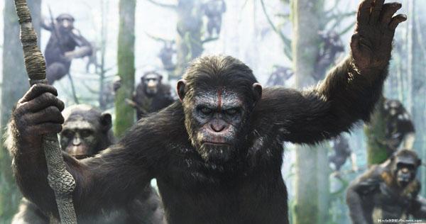 Caesar nel reboot Planet of the Apes (2011) prequel dell'omonima pellicola del 1968