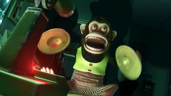 La raccapricciante scimmietta-giocattolo in Toy Story 3 (2010)