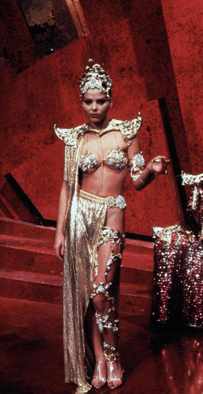 Ornella Muti è l'attraente Principessa Aura del pianeta Mongo in Flash Gordon (1980)