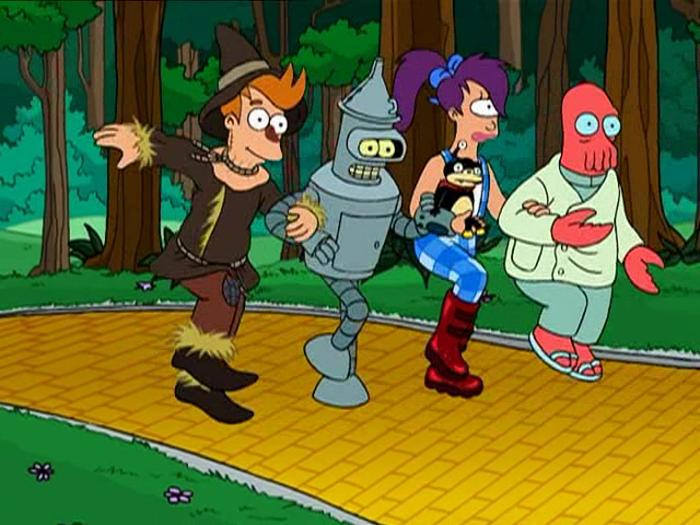 Futurama (stagione 3, ep. 18, Il gioco del Se Fossi 2)