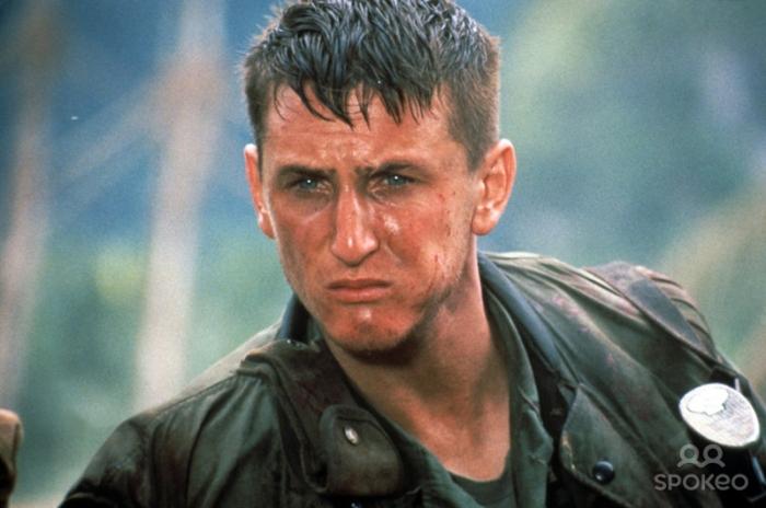 Sean Penn è Tony Meserve in Vittime di Guerra (1989): Il sergente psicopatico che inneggia a Gengis Khan sequestrando una giovane vietnamita.