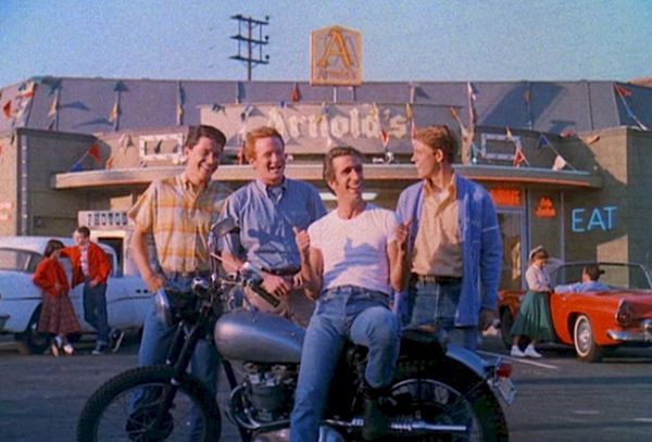Arnold's in Happy Days