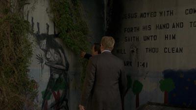 I graffiti esoterici sulla parete