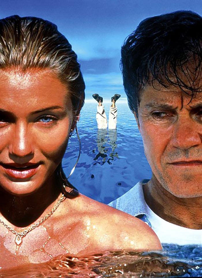 Occulta il cadavere dell'amante nelle Acque profonde con il marito Harvey Keitel, giudice corrotto. (1996)