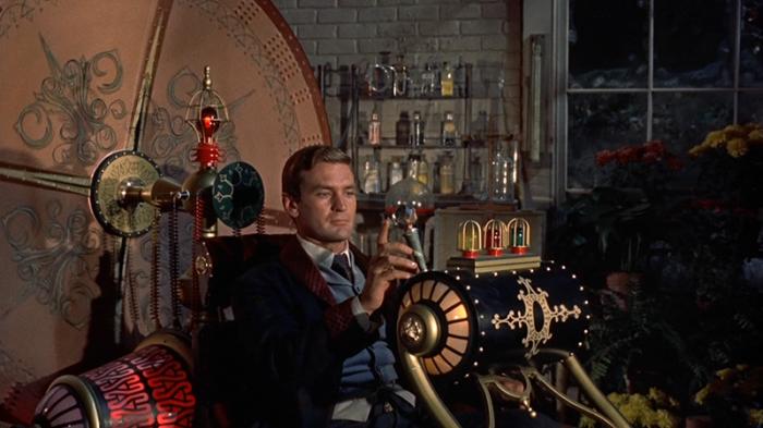 La Time Machine ne L'uomo che visse nel futuro (1960)