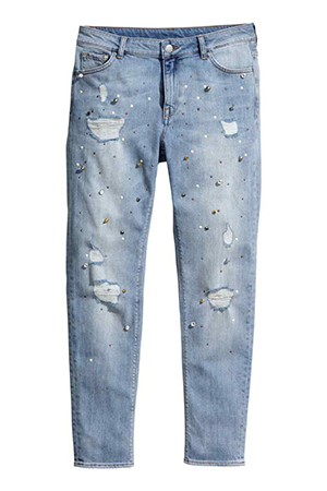 Girlfriend Jeans H&M 39,90 €