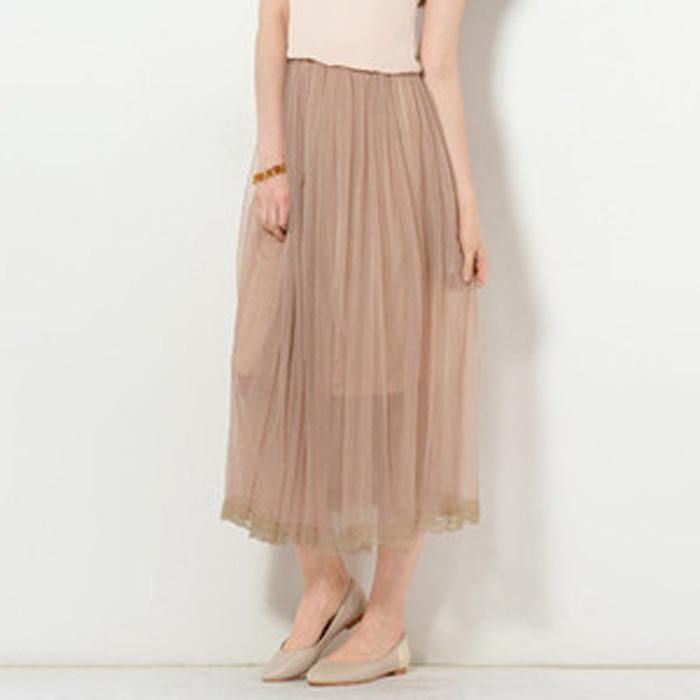 Tulle Maxi Skirt €8,60 su yesstyle.com