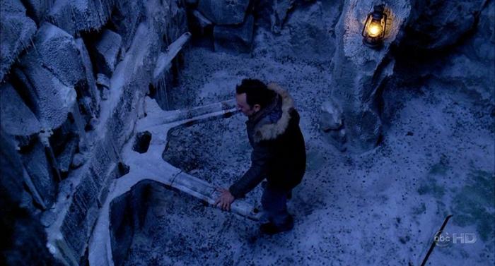 Ruota ghiacciata in Lost (2004-2010)