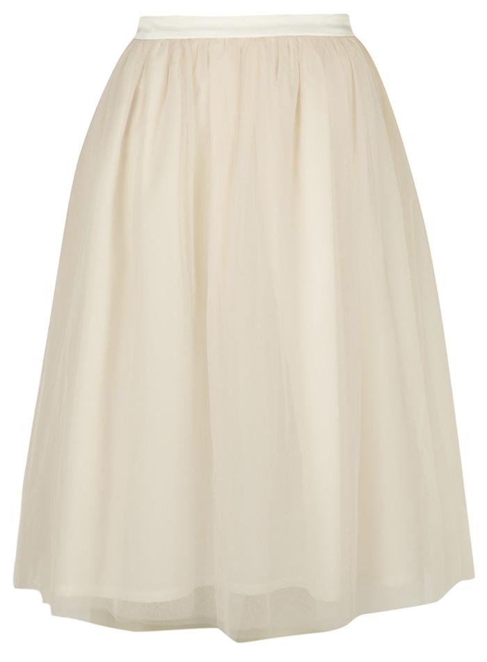 Dorothy Perkins Lola Skye Tulle Full Midi Skirt €20 su polyvore.com