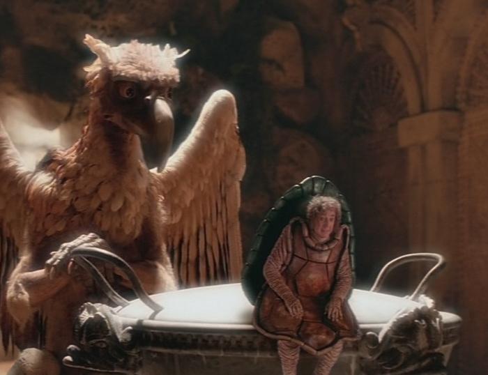 Falsa Tartaruga (Gene Wilder) in Alice nel Paese delle Meraviglie (1999)