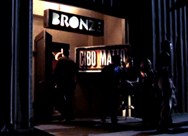 The Bronze in Buffy