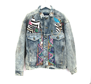 80's Acid Wash Denim jacket € 73 su etsy.com