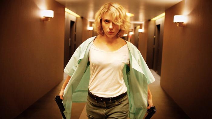 Scarlett Johansson è Lucy (2014)